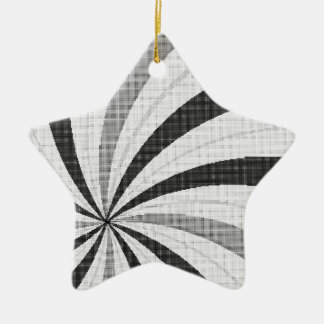 Pop Art Halftone Backdrop Christmas Ornament