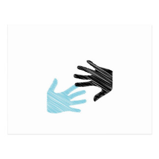 Pop Art Hands Postcard