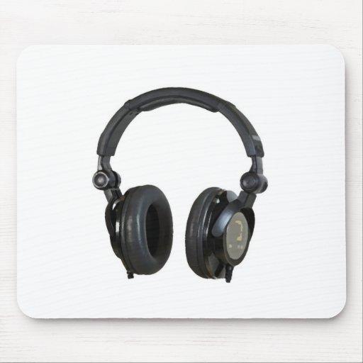 Pop Art Headphone Mousepads