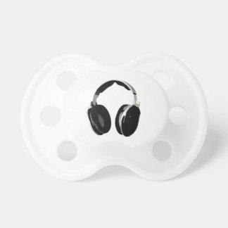 Pop Art Headphone Pacifiers
