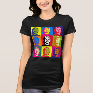 Pop Art Hillary Clinton Jersey Tee