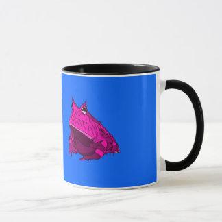 Pop Art Horny Frog Mug