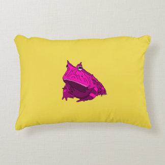 Pop Art Horny Frog Pillow