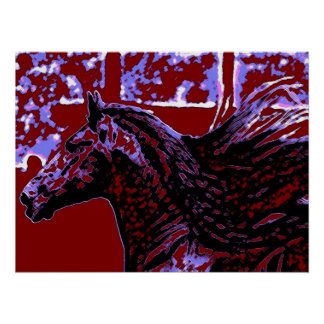 Pop Art Horse Print