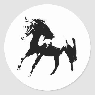 Pop Art Horse Stickers