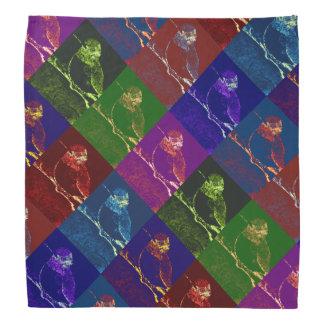 Pop Art Hummingbird Patterned Bandannas