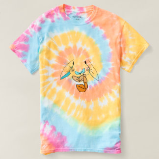 Pop Art Hungry Rabbit Tie Dye Tee