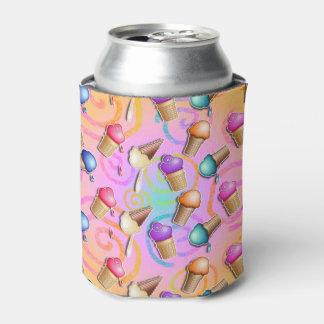 POP ART ICE CREAM CONES CAN COOLER