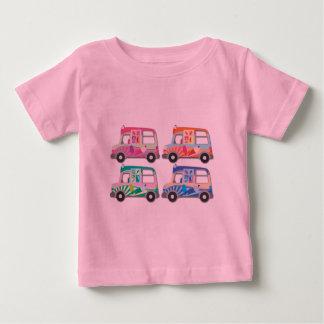 Pop Art Ice Cream Van Pink Baby T-Shirt