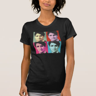 Pop Art Justin Trudeau - Full Size -.png T-Shirt