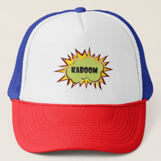 Pop art Kaboom typography Trucker Hat