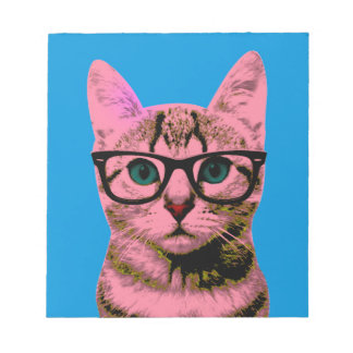 Pop Art Kitten Notepad