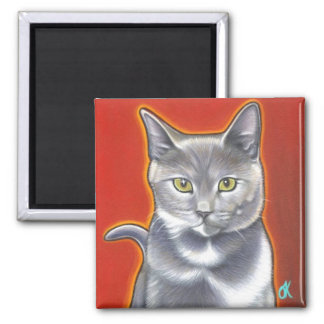 Pop Art Kitty Magnent Magnet