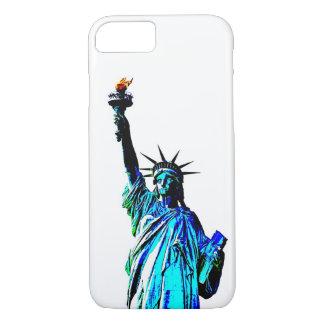 Pop Art Lady Liberty iPhone 7 Case