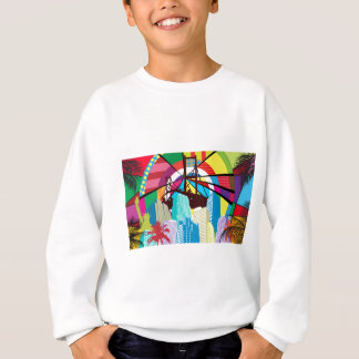 Pop Art Landmarks Sweatshirt