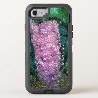 Pop Art Lavender Butterfly Bush Green Otterbox OtterBox Defender iPhone 7 Case