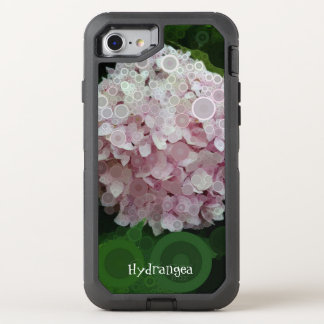 Pop Art Lavender Hydrangea Pink Green Otterbox OtterBox Defender iPhone 7 Case
