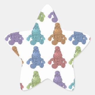 Pop Art Leprechaun Star Sticker
