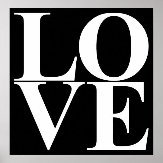 Pop Art LOVE Poster