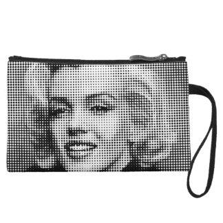 Pop Art Marilyn 2 Wristlet Clutch