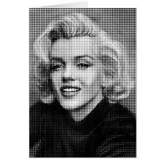Pop Art Marilyn Card