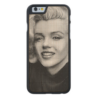 Pop Art Marilyn Carved Maple iPhone 6 Case