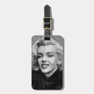 Pop Art Marilyn Luggage Tag