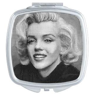 Pop Art Marilyn Travel Mirrors