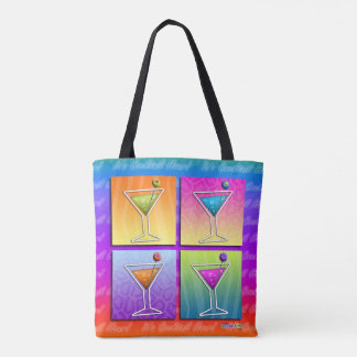 POP ART MARTINIS TOTE BAG