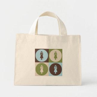Pop Art Midwifery Mini Tote Bag