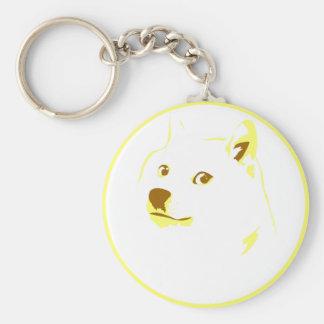 Pop Art/ minimal doge Keychains