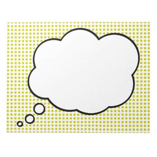 Pop Art Notepad: Homage to Lichtenstein