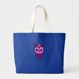 Pop Art Owl Jumbo Tote
