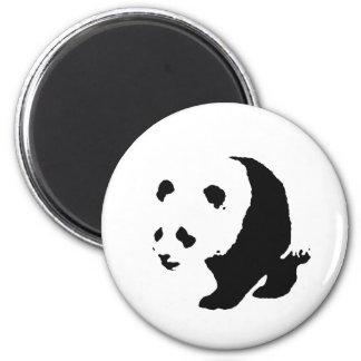 Pop Art Panda 6 Cm Round Magnet