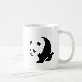 Pop Art Panda Basic White Mug