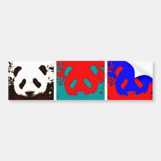 Pop Art Panda Bumper Sticker