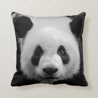 Pop Art Panda Throw Pillows