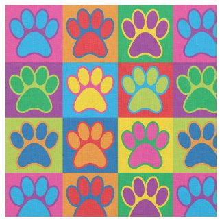 Pop Art Paws Fabric