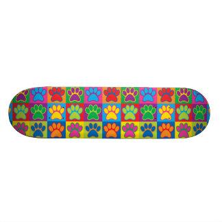 Pop Art Paws Skateboard Decks