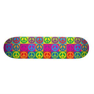 Pop Art Peace Skate Deck