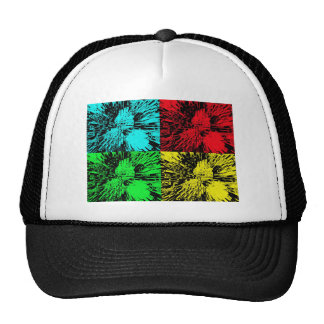 Pop Art Peaches Cap