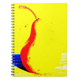 Pop Art Pear Notebook