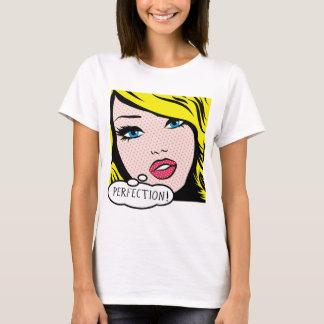 """Pop Art """"PERFECTION"""" Women's Basic T-Shirt"""