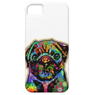 Pop Art Pet Pug Colorful Art Retro Case For The iPhone 5