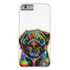 Pop Art Pet Pug Colourful Art Retro Barely There iPhone 6 Case