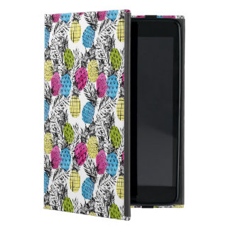 Pop Art Pineapples And Palm Leaves iPad Mini Case