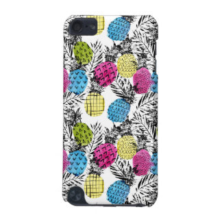 Pop Art Pineapples And Palm Leaves iPod Touch (5th Generation) Covers