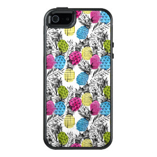 Pop Art Pineapples And Palm Leaves OtterBox iPhone 5/5s/SE Case