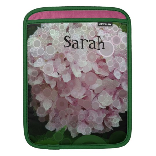 Pop Art Pink Lavender Hydrangea iPad Mini Case