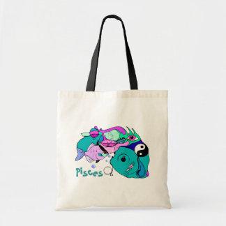Pop Art Pisces Yin Yang Fish Gift Bags Totes Tote